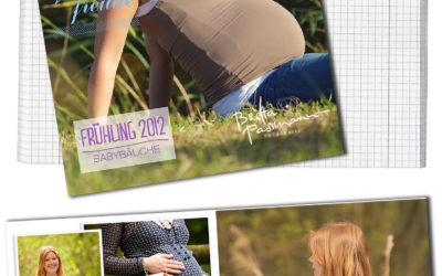 Schwangerschaftsfotos im Frühling