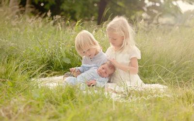 Babyfotos, Geschwisterfotos Dortmund | Luca, Til und Jasper