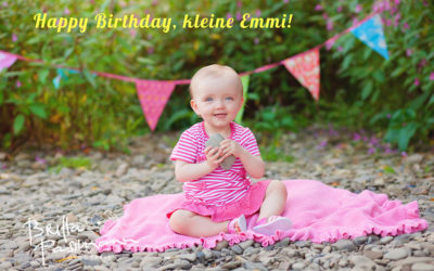 Babyfotos Dortmund oder Happy Birthday, kleine Emmi!