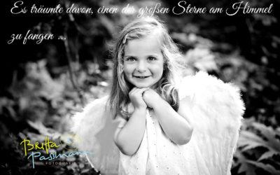 Traumhafte Kinderfotos … eine wunderbare Geschichte vom Sterntaler