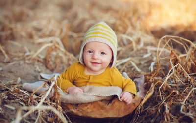 Babyfotos in der Natur | Jasper | 3 Monate