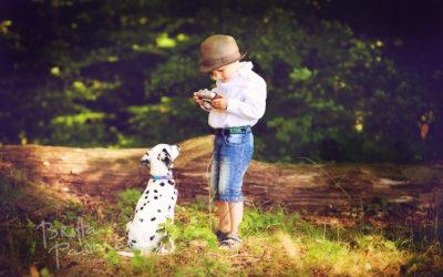 Paul & Lotte | Kinderfotografie & Hundefotografie in Dortmund