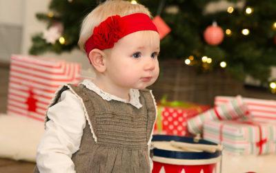 Babyfotos zur Weihnachtszeit | Fiona