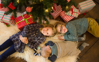 Wir warten auf's Christkind … | Kinderfotografie Dortmund