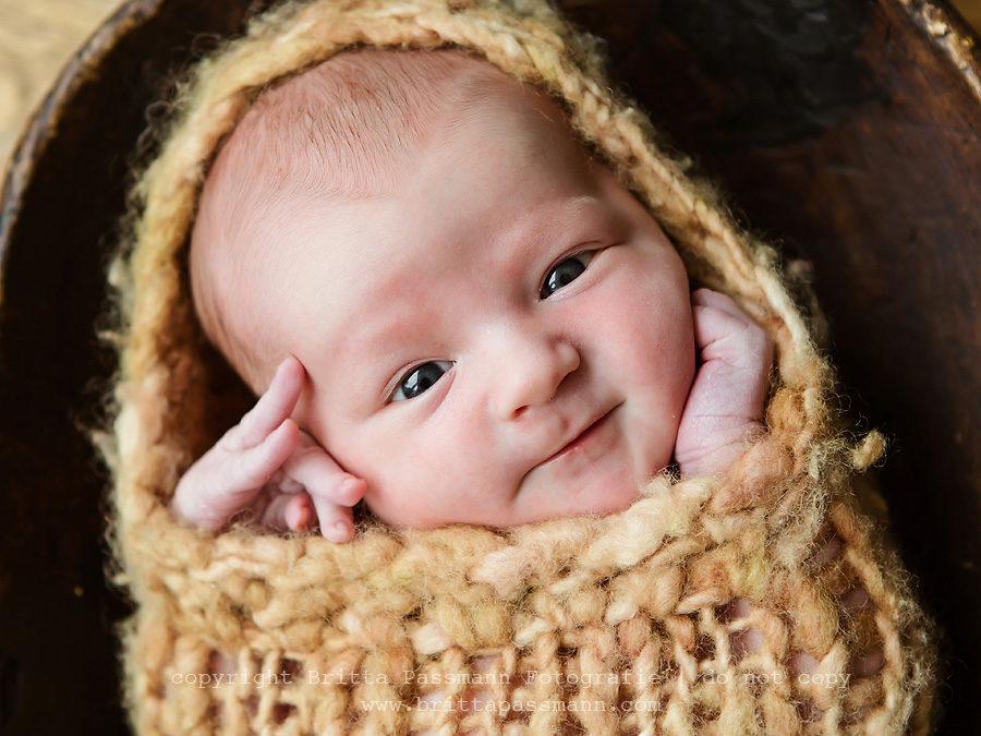 Philipp | 6 Tage alt | Neugeborenenfotos Bochum