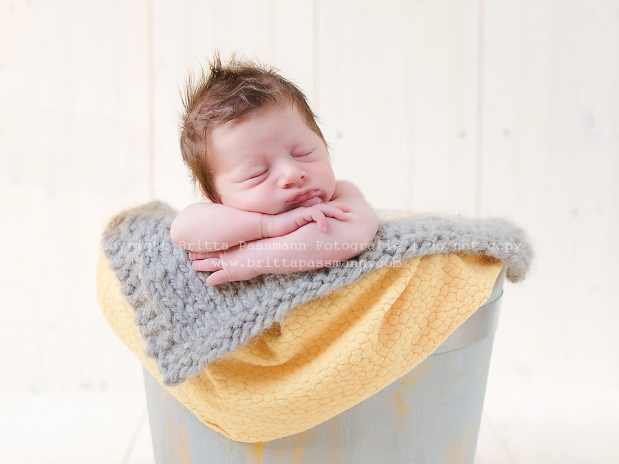 Fritz | 10 Tage alt | Neugeborenenfotos Schwelm