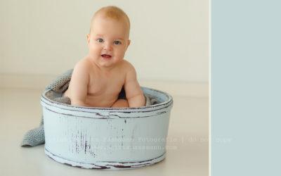 Babyfotos im Babyfotostudio in Dortmund Oespel | Theo 7 Monate