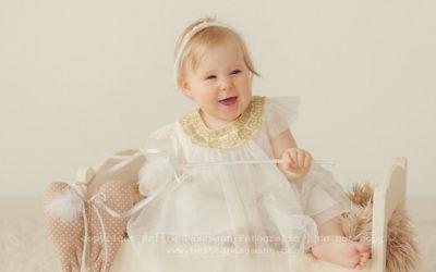 Babyfotos zu Weihnachten | Mina | 10 Monate
