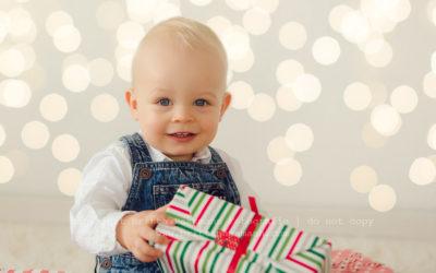 Kinderfotos als Geschenk zu Weihnachten | Fabian | 14 Monate