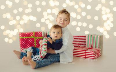 Kinderfotos zu Weihnachten | Fenja und Niklas