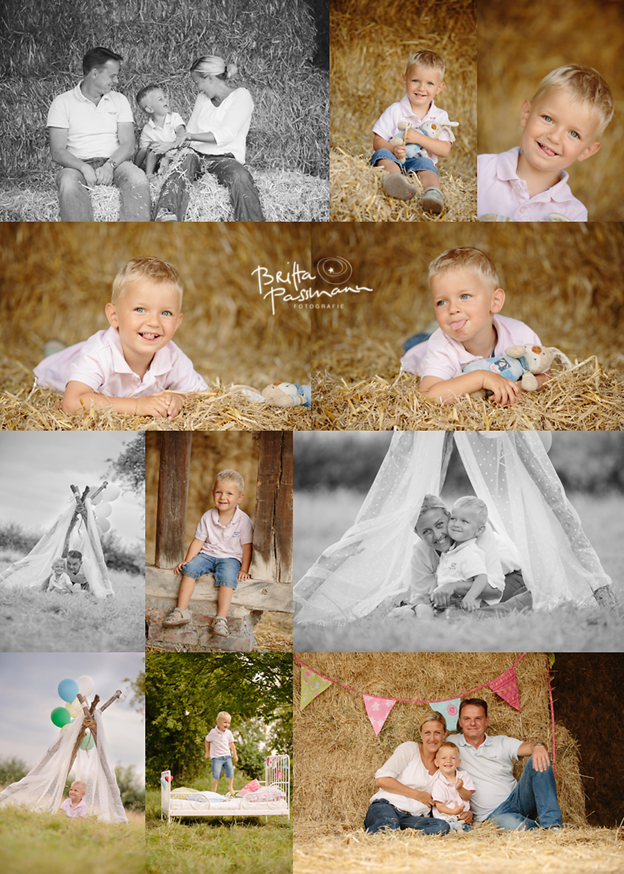 Sommerfotoaktion Familienfotos Kinderfotos Bauernhof Dortmund Schwerte