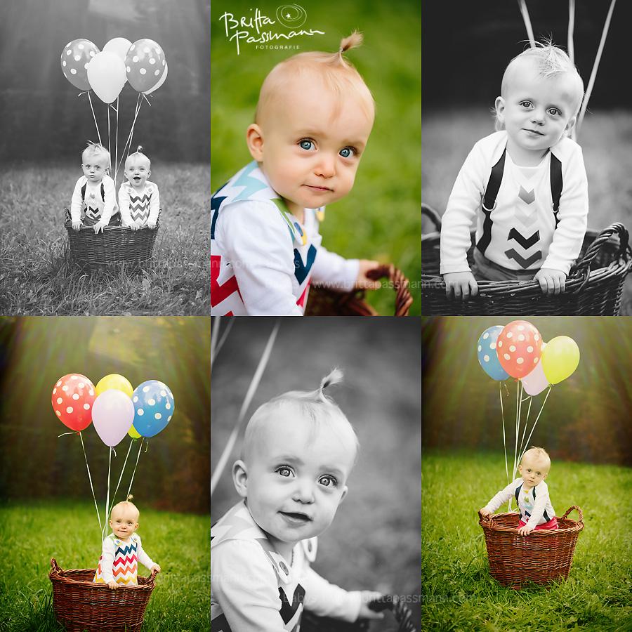 Zwillingsfotos Babyfotos Fotograf Dortmund erster geburtstag
