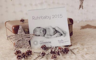 Ruhrbaby-Kalender 2015 | Charity Projekt zu Gunsten der Aktion Lichtblicke