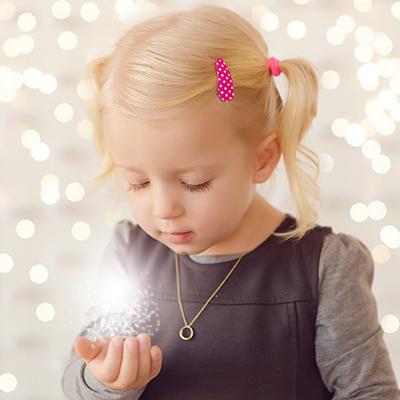 Es weihnachtet … Kinderfotos zu Weihnachten