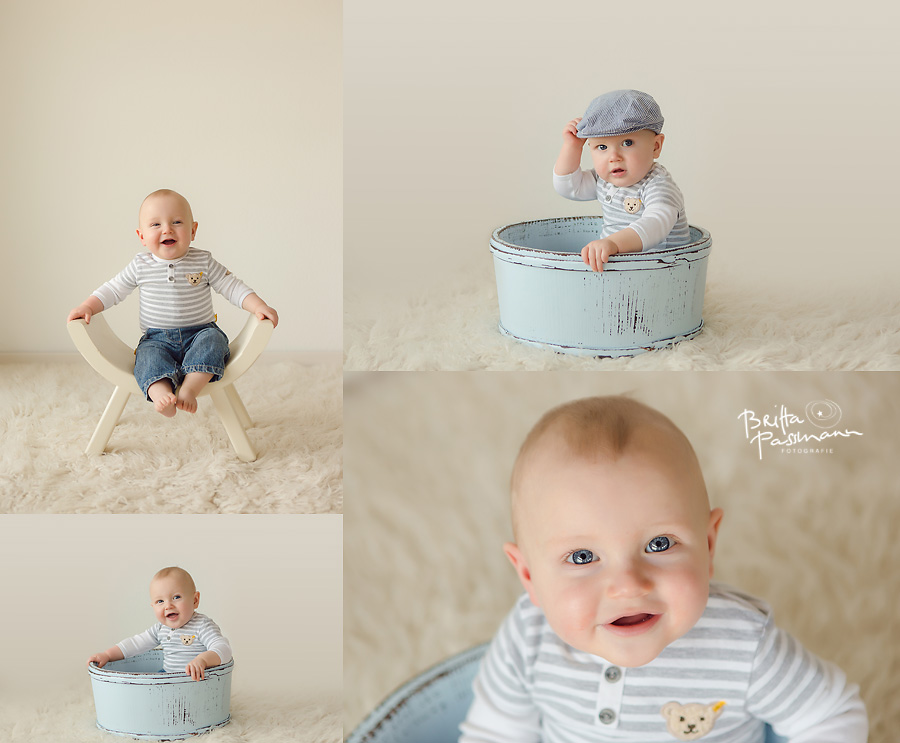 fröhliche Babyfotografie Dortmund