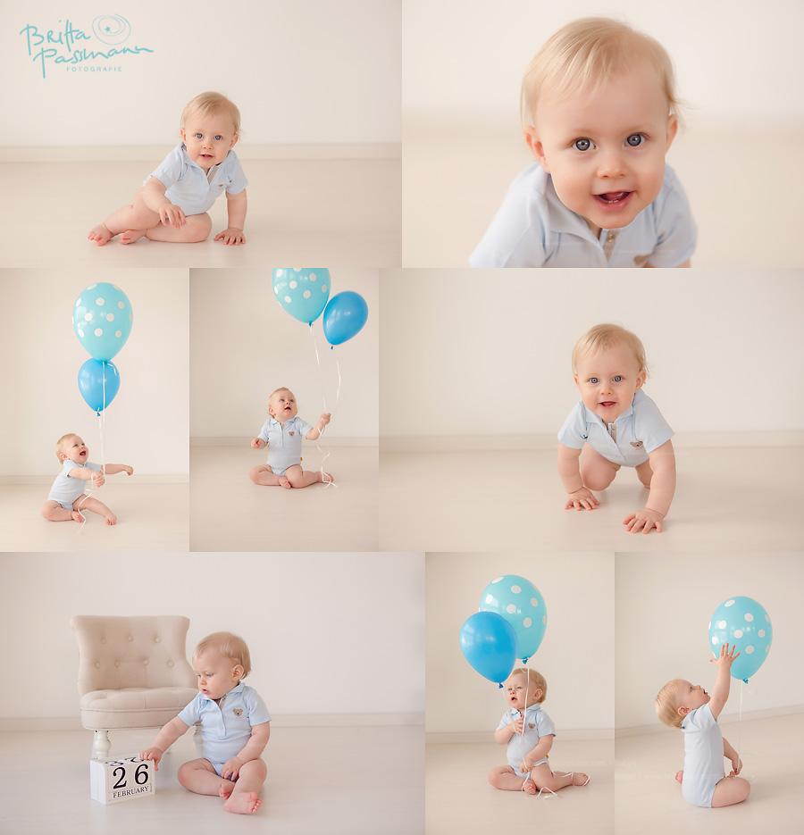 Fotoshooting erster Geburtstag