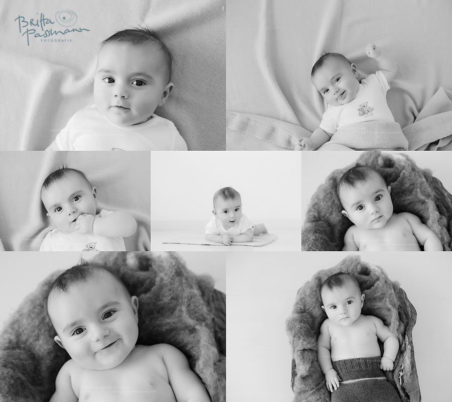 Babyfotos in Bochum 4 Monate