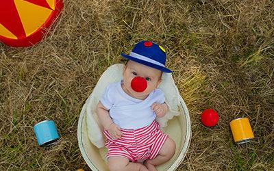 Themenshooting Zirkus | Sommerfotoaktion Tag 2 | fröhliche Kinder- und Familienfotos in Dortmund