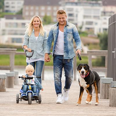 Moderne Familienfotos und Kinderfotos am Phönixsee in Dortmund | Neo
