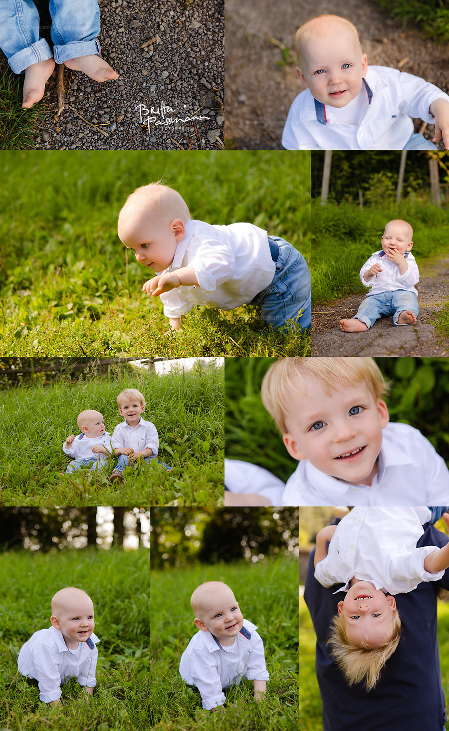 Kinderfotos im Grünen natürliche Kinderfotos Dortmund