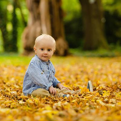 Herbstliche Kinderfotos im Rombergpark | Familienfotos in Dortmund