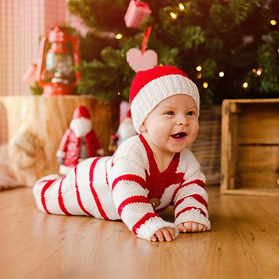 Fotos zu Weihnachten von Kindern und Babys in Dortmund