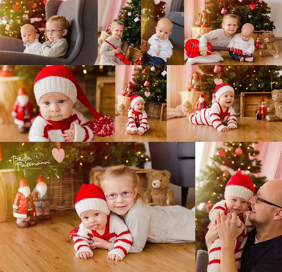 Babyfotos zu Weihnachten Dortmund