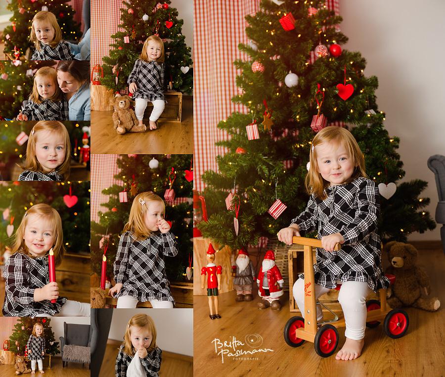 Babyfotos zu Weihnachten in Bochum
