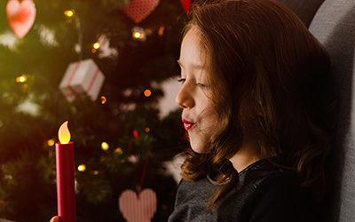 Kinderfotos und Babyfotos zu Weihnachten | Fotoshooting im Studio in Dortmund