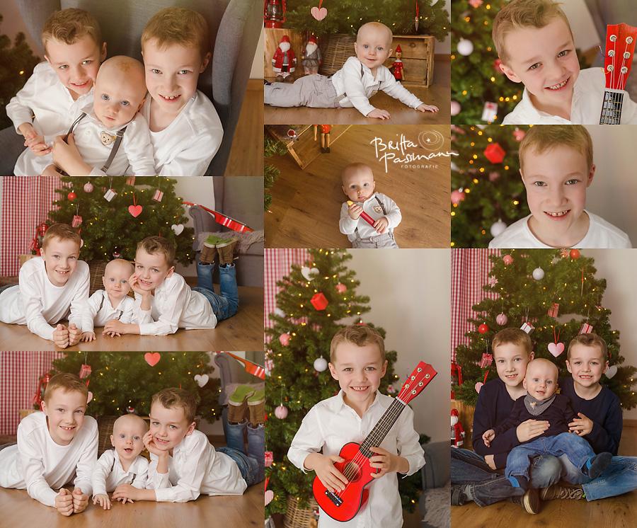 Kinderfotos Babyfotos im Fotostudio in Dortmund Weihnachten