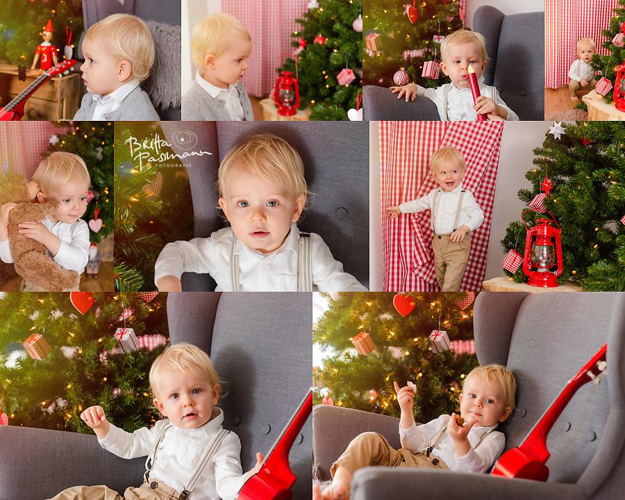 Kinderfotos im Fotostudio Dortmund Weihnachten
