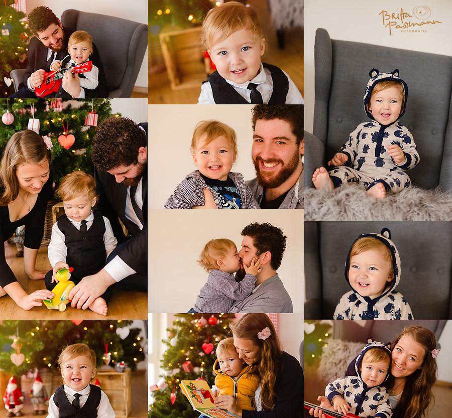 Kinderfotos zu Weihnachten in Dortmund