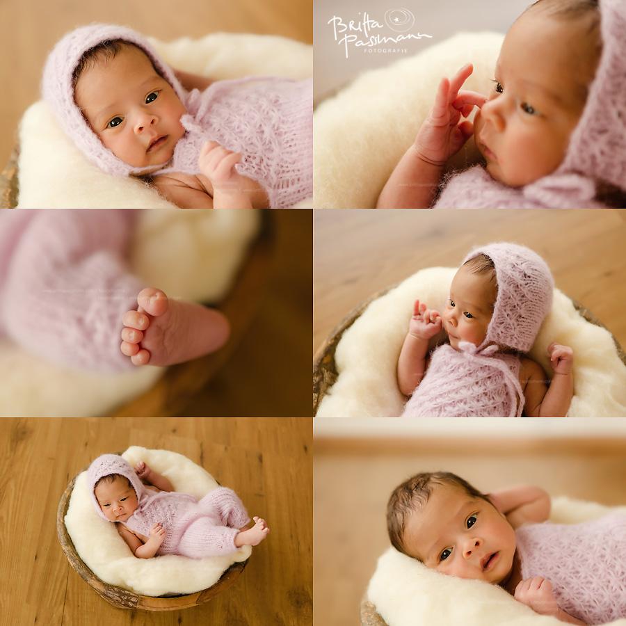 Neugeborenenfotos im Fotostudio in Dortmund