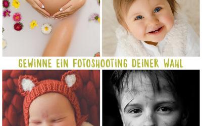 Neugeborenenfotos, Babyfotos, Kinderfotos oder Babybauchfotos – gewinne ein Fotoshooting deiner Wahl in Dortmund