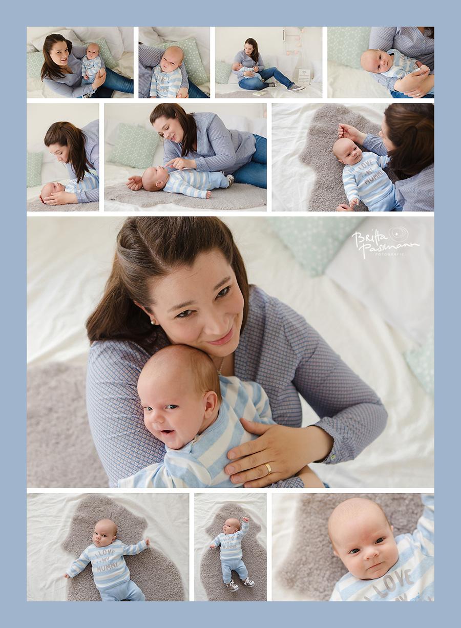 05_Baby und Mam Fotoshooting in Dortmund Babyfotos