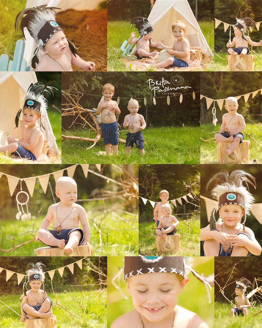 Kinderfotos Kinderfotografie Dortmund Indianerfotoshooting 2