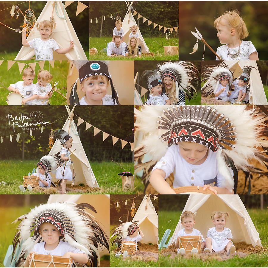 Kinderfotos Kinderfotografie Dortmund Indianerfotoshooting