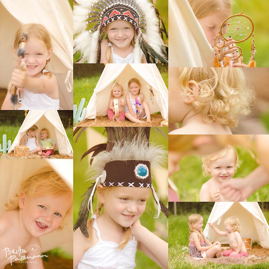 Kinderfotos Kinderfotografie NRW Indianerfotoshooting 2