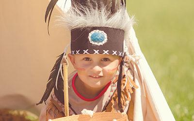 Kinderfotos und Familienfotos in Dortmund | Indianerfotoshooting Teil 2