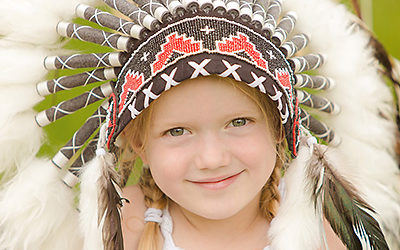 Sommerfotoaktion 2016 | Kinderfotos Indianershooting