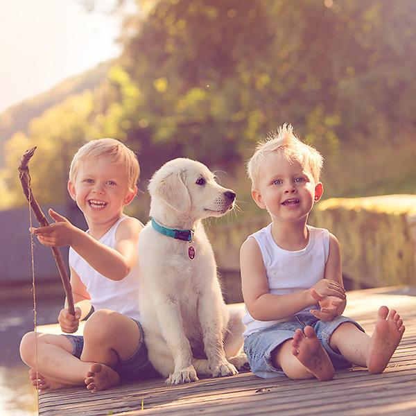 Wie ein Angelausflug zum Fotoshooting wird oder wie ein Fotoshooting auch kleinen Jungs jede Menge Spaß machen kann