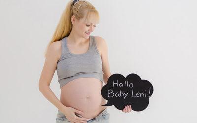 Babybauchfotoshooting – werdende Mama in Dortmund