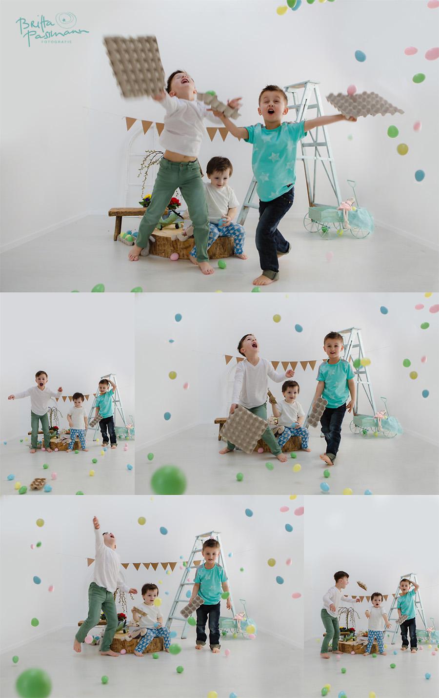 Frohe Ostern Kinderfotos Dortmund Fotoshooting wilde Ostern