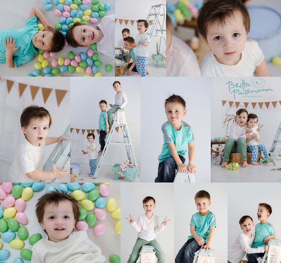 Ostergeschenk Fotoshooting Ostern Kinderfotos Dortmund