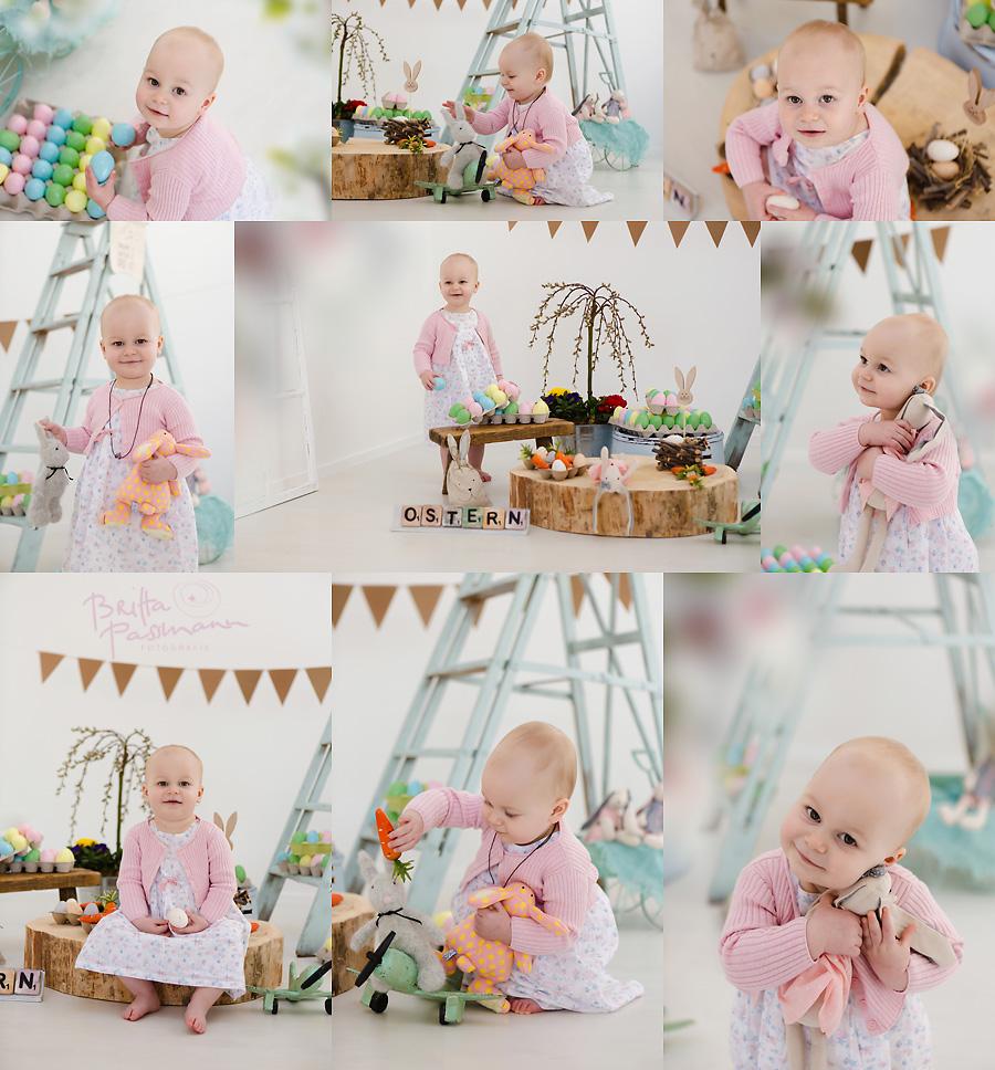 Ostergeschenke Fotoshooting Ostereier suchen Kinderfotos Dortmund Familienfotos Fotostudio Fotoatelier