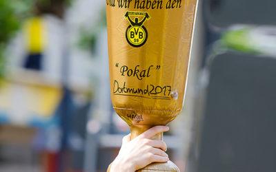 Der BVB ist Pokalsieger – Jubelkorso auf dem Borsigplatz