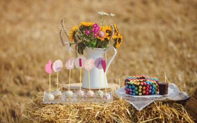 Ein Fotoshooting, ein Picknick im Stroh und ein 9. Geburtstag