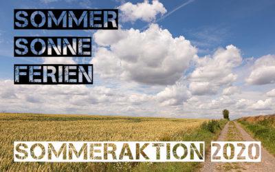Sommer, Sonne, Ferien – Sommeraktion 2020