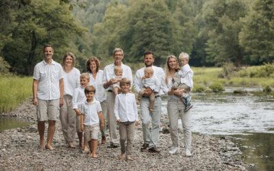 Generationsshooting – ein Fotoshooting zusammen mit Oma und Opa und der ganzen Familie